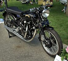 1952 Vincent Black Lightning Motorcycle by TeeMack