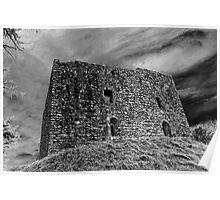 Lydford castle,  Dartmoor, Devon, UK  Poster