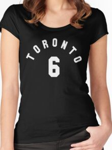 Toronto 6 [White] Women's Fitted Scoop T-Shirt
