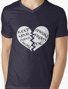 Paper Girl Mens V-Neck T-Shirt