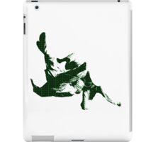 Judo Throw in Gi 3 green iPad Case/Skin
