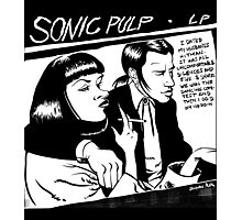 Sonic Pulp: Goo Fiction Photographic Print