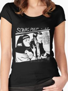Sonic Pulp: Goo Fiction Women's Fitted Scoop T-Shirt