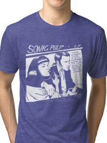 Sonic Pulp: Goo Fiction Tri-blend T-Shirt