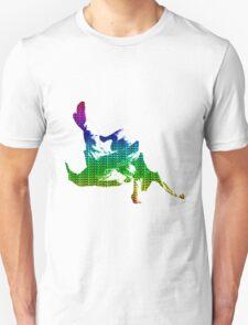 Judo Throw in Gi 3 multicolour  Unisex T-Shirt