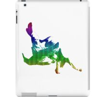 Judo Throw in Gi 3 multicolour  iPad Case/Skin