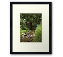 Old East Sioux Falls Framed Print