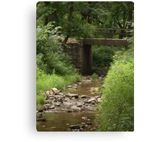 Old East Sioux Falls Canvas Print