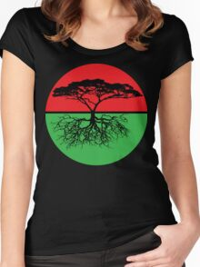 Family Tree RBG Women's Fitted Scoop T-Shirt