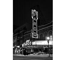 Fargo Photographic Print