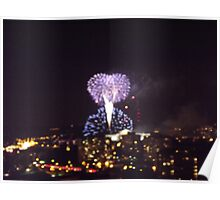 Firework Celebration Poster