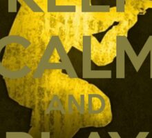 Keep Calm and play CS:GO Sticker