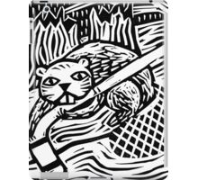 Hockey Beaver iPad Case/Skin