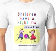 Child rights Unisex T-Shirt