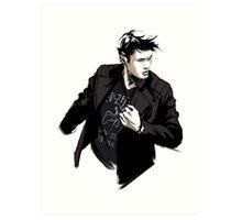 Supernatural - Punk!Dean Art Print