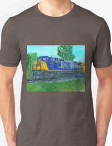 CSXtrain. locomotive, diesel T-Shirt