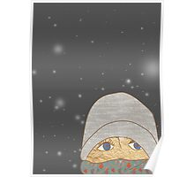 its snowing again this morning Poster