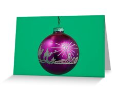 Three Wise Men - Christmas Ornament Greeting Card