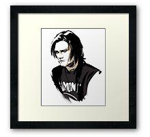 Supernatural - Punk!Sam Framed Print