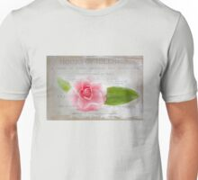 Hours of Idleness: A Flower in Pink Unisex T-Shirt
