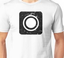 Square-Atmosphere-Black Unisex T-Shirt
