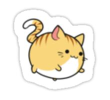 Orange Tabby Sticker Sticker