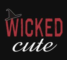 Wicked Cute with Witch Hat Kids Clothes