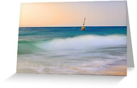 Cottesloe Beach Pylon - Western Australia  by EOS20