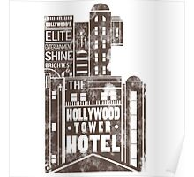 Tower of Terror  (distressed edition) Poster