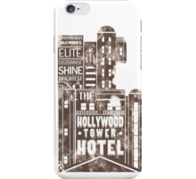 Tower of Terror  (distressed edition) iPhone Case/Skin