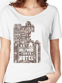 Tower of Terror  (distressed edition) Women's Relaxed Fit T-Shirt