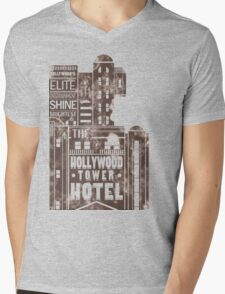 Tower of Terror  (distressed edition) Mens V-Neck T-Shirt