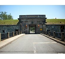 Ft Monroe Tunnel -- Hampton, VA Photographic Print