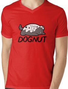 DOGNUT PUP Mens V-Neck T-Shirt