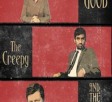 The Good...The Creepy..AND THE RON SWANSON by kurticide
