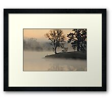 In the morning when I rise Framed Print