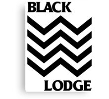 Black Lodge Canvas Print