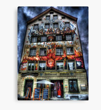 Where Wizards Dine (aka Restaurant Fritschi) Canvas Print