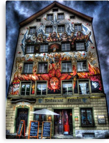 Where Wizards Dine (aka Restaurant Fritschi) by Luke Griffin