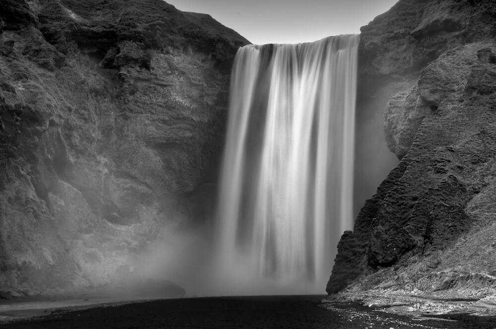 Skogofoss Waterfall - Iceland by Kathy White