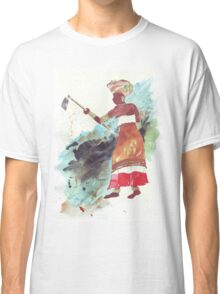 Xhosa Woman hoeing - Ethnic series Classic T-Shirt
