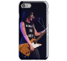 Sarah McLeod of Superjesus at Waves Nightclub iPhone Case/Skin