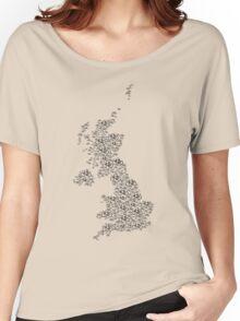 Bike United Kingdom Women's Relaxed Fit T-Shirt