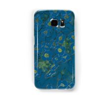 Blue Flowers Samsung Galaxy Case/Skin