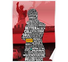 Saul Goodman Quotes Poster