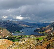 Ullswater from Arnison's Crag by Andy Grant