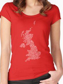Bike United Kingdom Women's Fitted Scoop T-Shirt