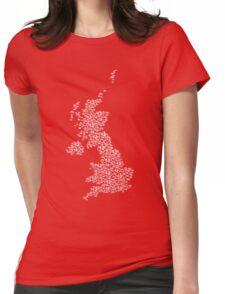 Bike United Kingdom Womens Fitted T-Shirt