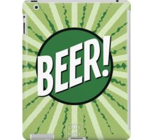 Crate and Pickle - Beer! iPad Case/Skin