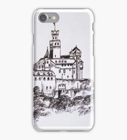 Marksburg Castle iPhone Case/Skin